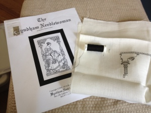 The Wyndham Needlewoman-Blackwork