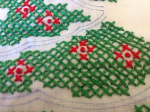 2013 crosses and french knots.